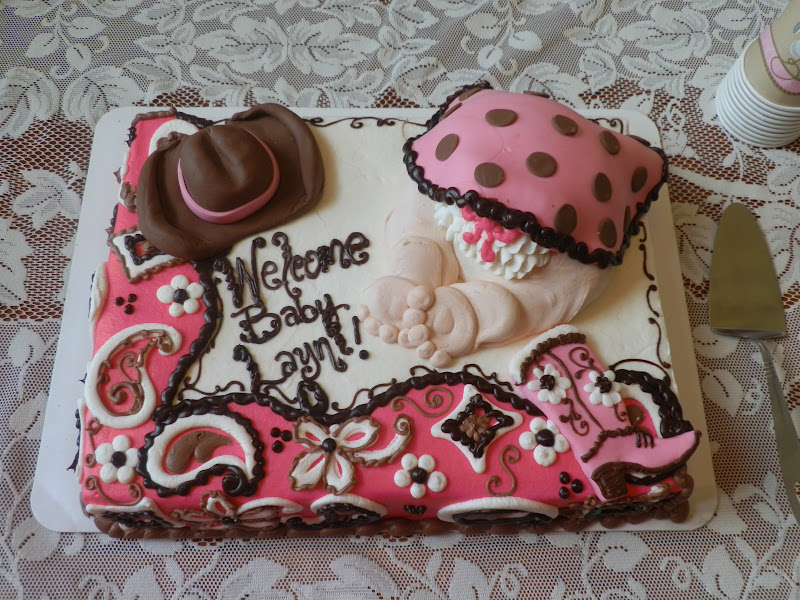 Cowgirl Baby Shower Cake Ideas and Designs