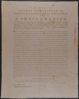 Full-page view of Proclamation