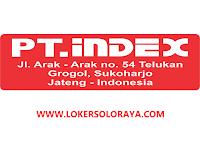 Lowongan Perusahaan PMA Bidang Furniture Eksport Maret 2021 di PT Index Sukoharjo