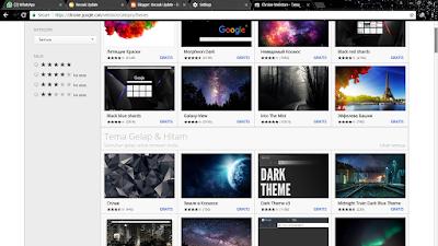 Cara gampang Ganti Thema Google Chrome