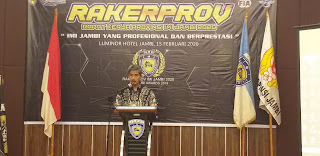Ketua Koni Jambi Secara Resmi Membuka Rakerprov IMI Jambi Dan IMI Award.