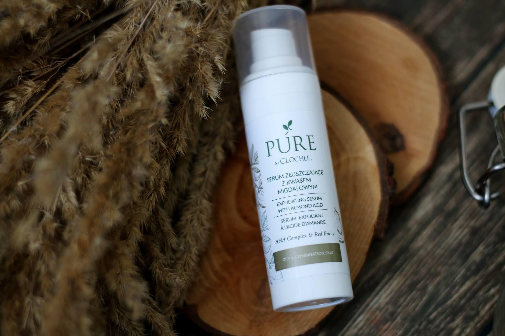 Pure By Clochee serum złuszczające z kwasem migdałowym