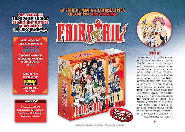 Fairy Tail: Pack completo