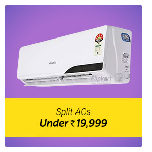Split AC under Rs. 19999.