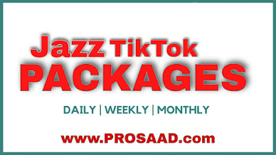 Jazz TikTok Packages 2021 – Daily Weekly & Monthly
