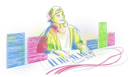 Doodle: Tim Bergling (Avicii) 3 years after his death, he remains inescapable