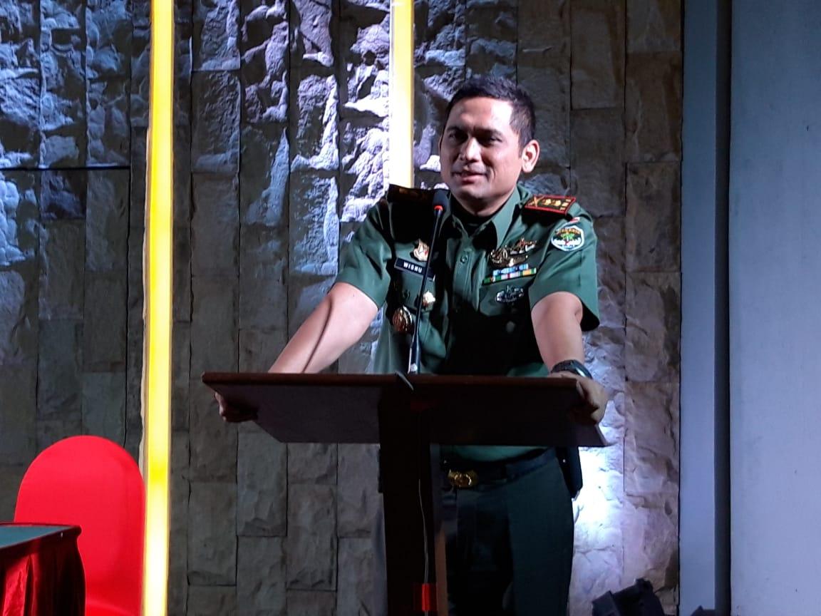 Dandim 0506 Tangerang, Ajak Wartawan Membangun dan Memajukan Bangsa