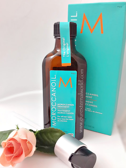 Moroccanoil Treatment - The Original - Review, Swatch