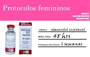 Anabolics #76 Ciclo Feminino  Stanozolol Injetavel Curto