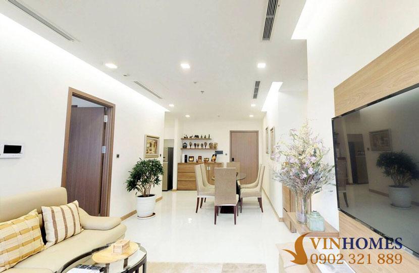 Cho thuê căn hộ 2PN Vinhomes Bình Thạnh - Park 1 - hinh 3