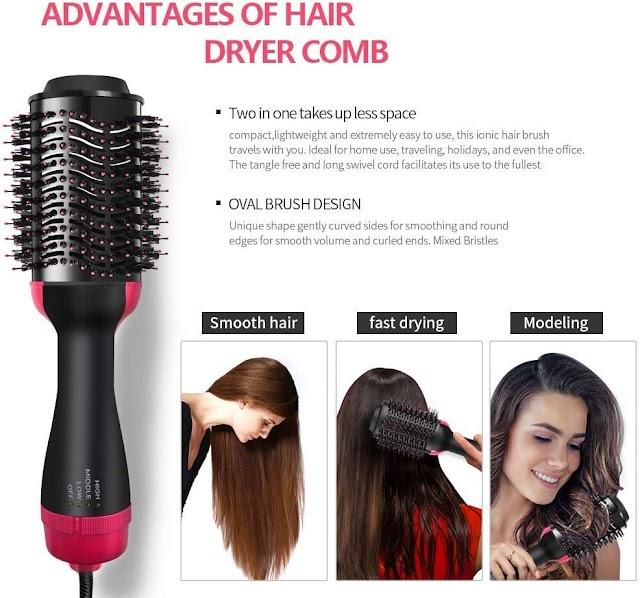Top 3 Best Ionic Straightening Hair Dryer And Volumizer Hot Air Brush