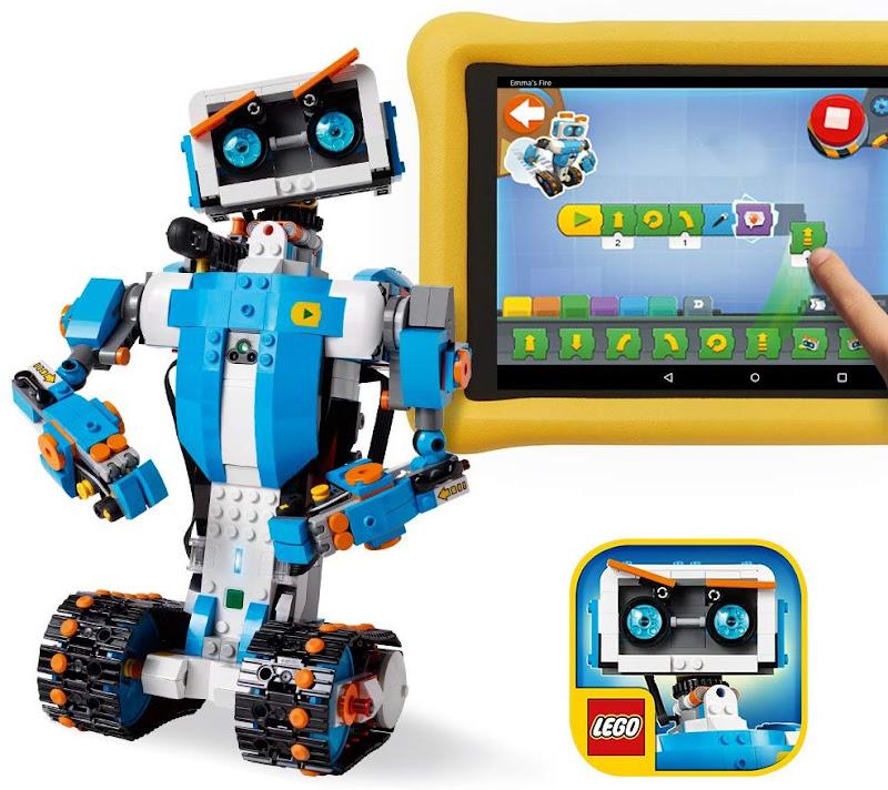 LEGO Boost Creative Toolbox 17101 Fun Robot Building Set