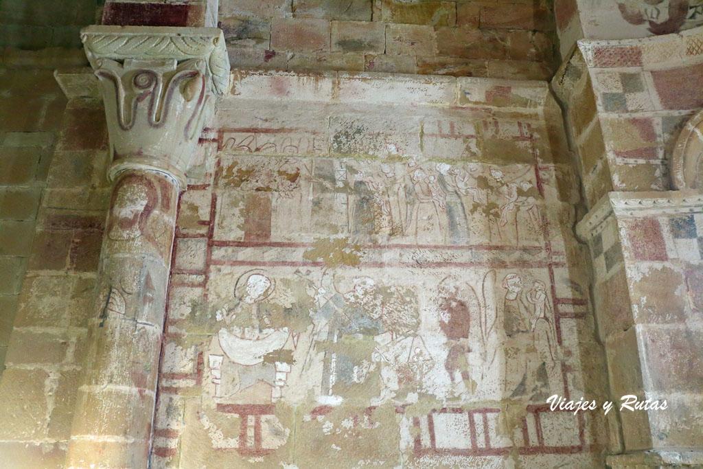 Pinturas de la Ermita de Santa Eulalia, Barrio de Santa María