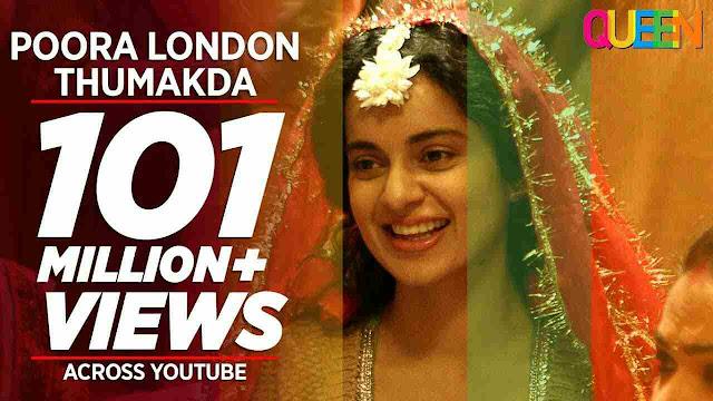 London Thumakda Hindi Lyrics - Queen | Neha Kakkar
