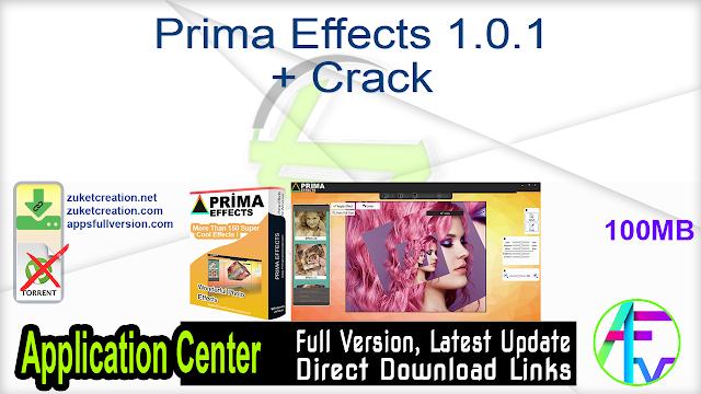Prima Effects 1.0.1 + Crack