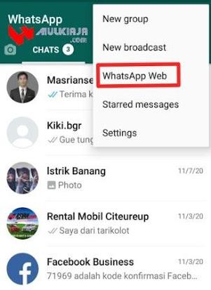 Cara Gunakan Whatsapp Web