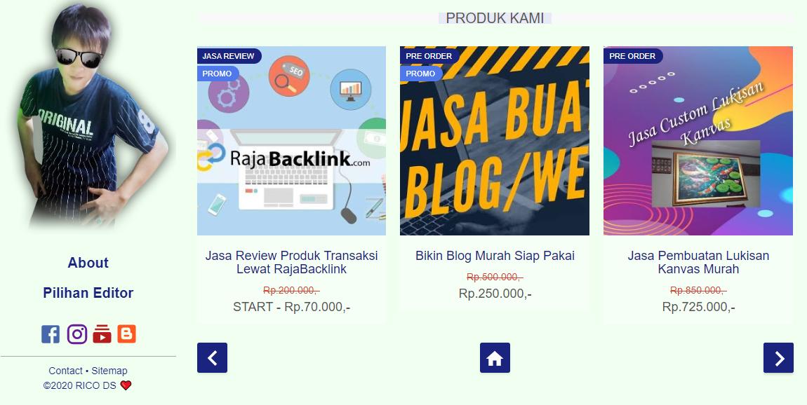 Template Blogspot Rasa Wordpress, Memang ada?