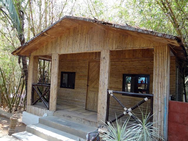 cabañas de bambu