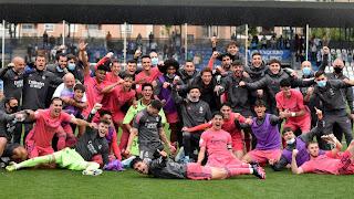 ¡Estamos en Play-Offs! Talavera 2-4 Real Madrid Castilla.