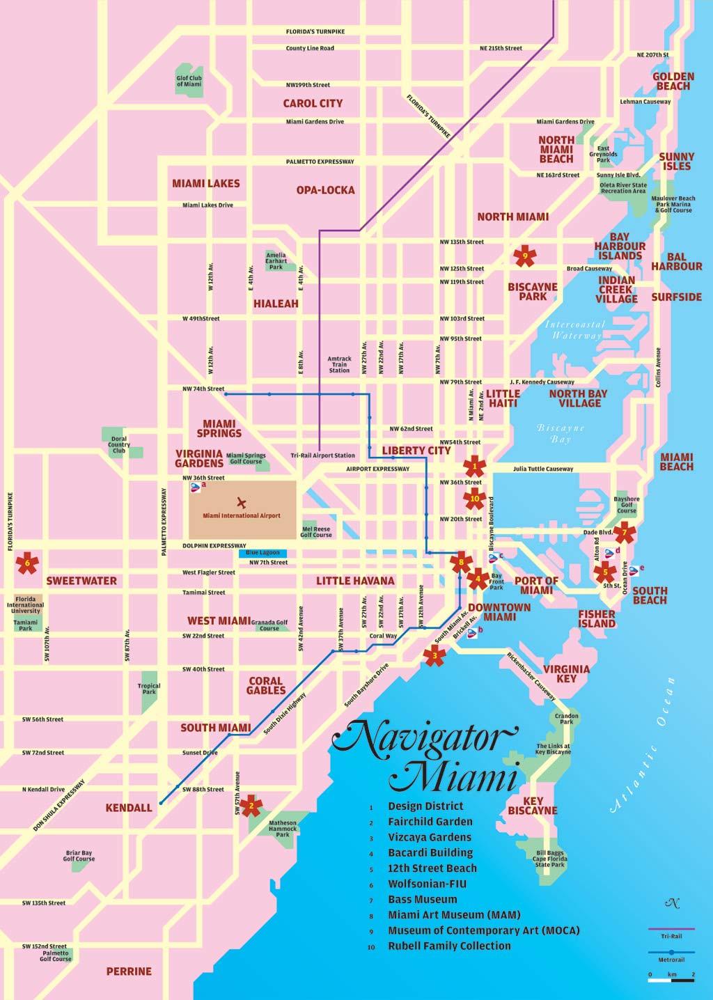 mapas de miami - eua   mapasblog