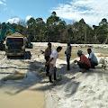 Aktivitas Tambang Pasir Dilingkungan Sapek Sangat Meresahkan Warga