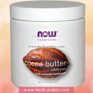 فوائد زبدة الكاكاو لعلاج تمددات الجلد بالجسم
