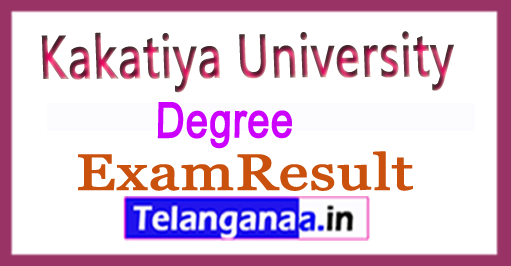 Kakatiya University KU Degree 2nd Year Supply Exam Results  2018 Download