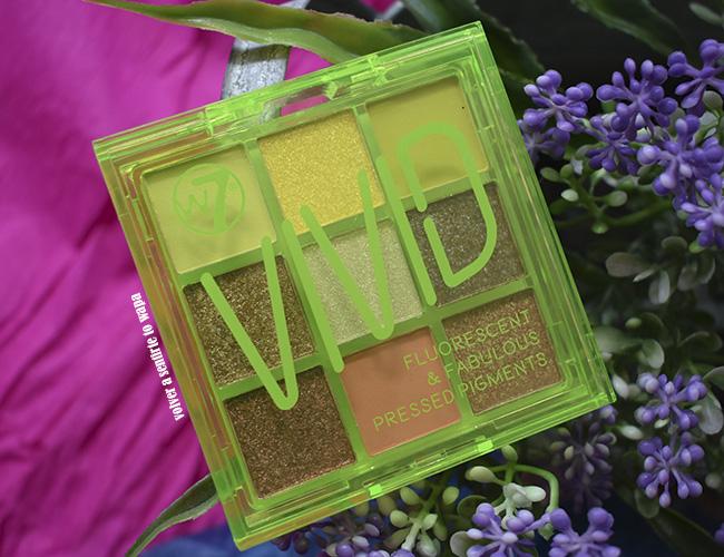 Paleta Vivid - Glowin' Green de W7