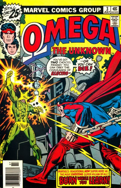 Omega the Unknown #3, Electro