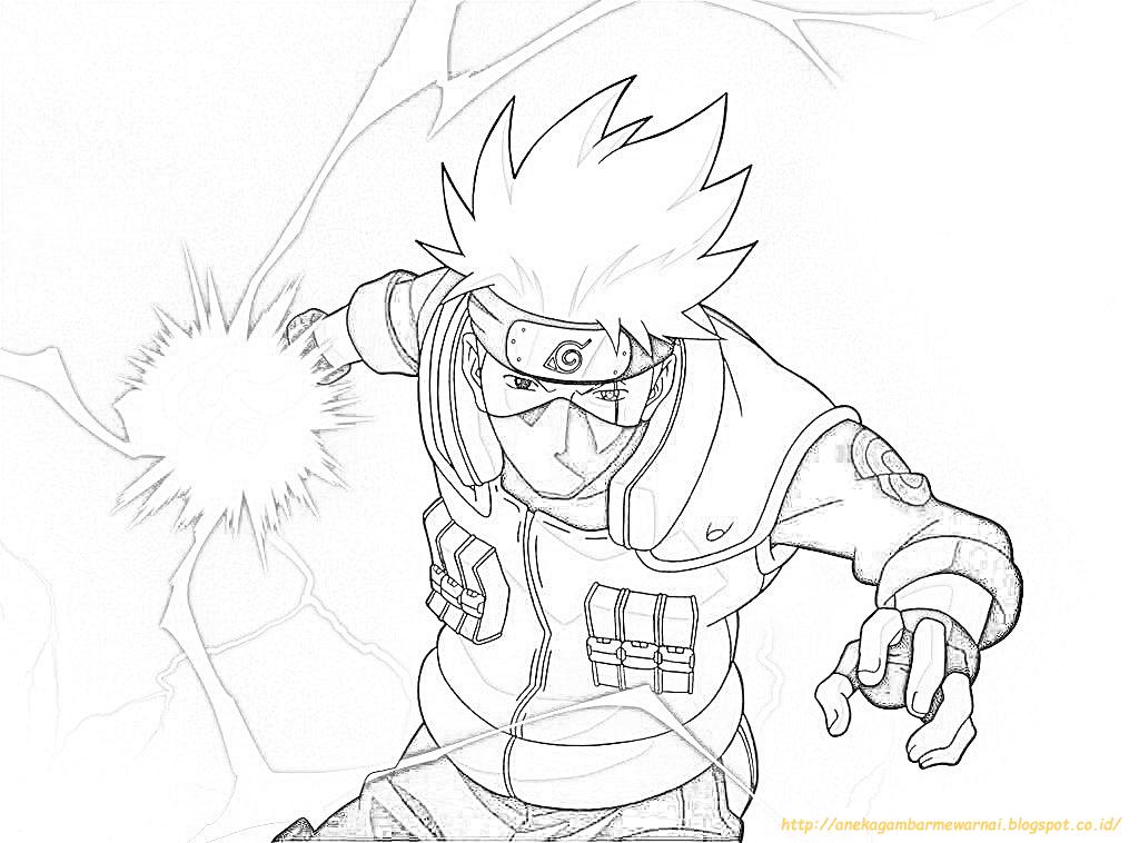 kakashi sketch chibi