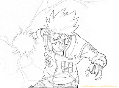 Mewarnai Gambar Naruto - 5
