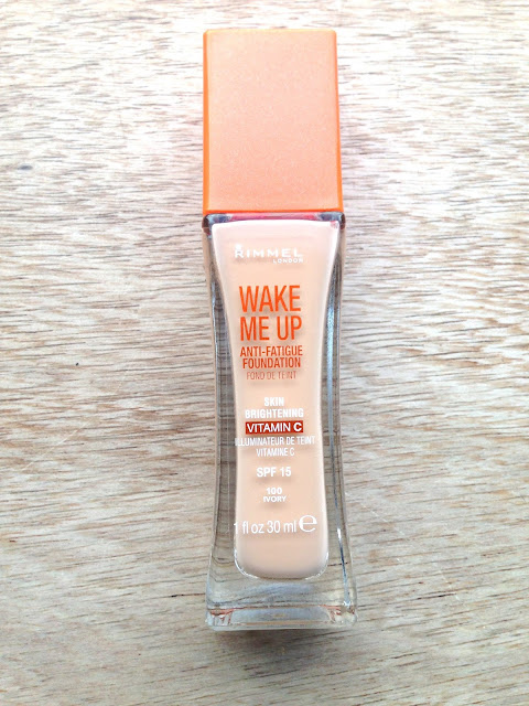 Rimmel Wake Me Up Foundation - A Review