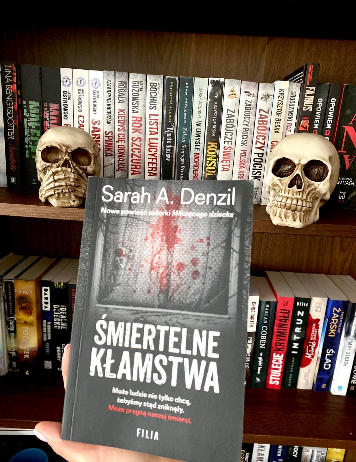 Sarah A. Denzil - Śmiertelne kłamstwa