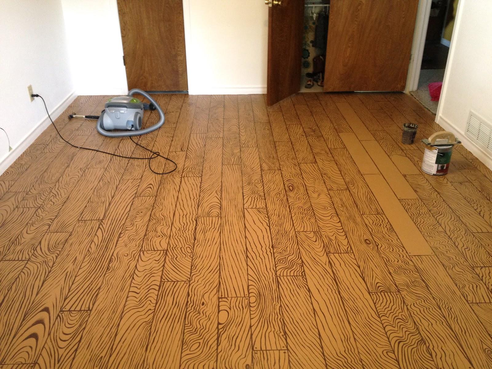 Mural Shop Faux Wood Floor