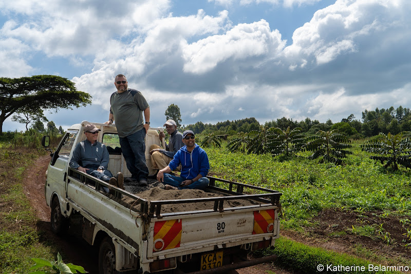 Hauling Dirt to the Farm Volunteering in Kenya with Freedom Global