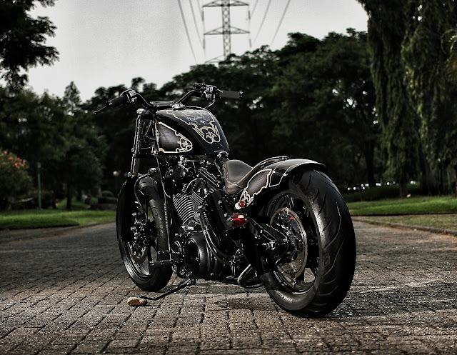 Harley Davidson Sportster By Studio Motor Hell Kustom