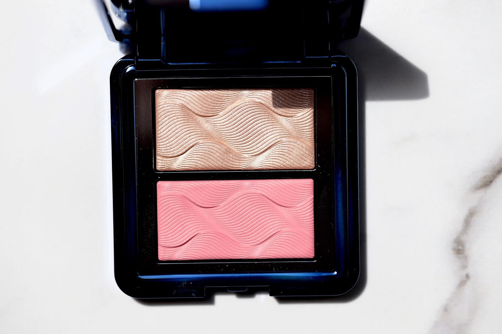 chantecaille chic cheek palette duo rose revue