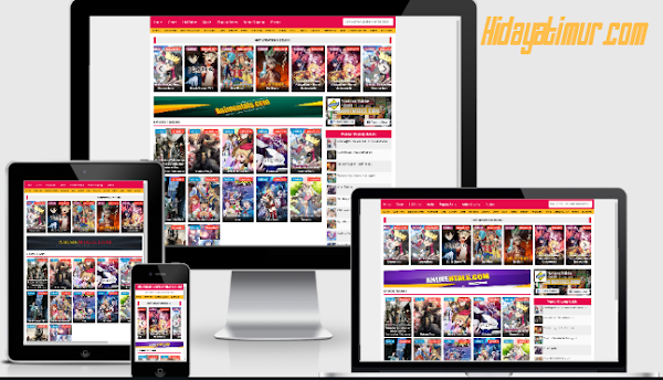M-D Movies v3.0 Responsive Template Blogger