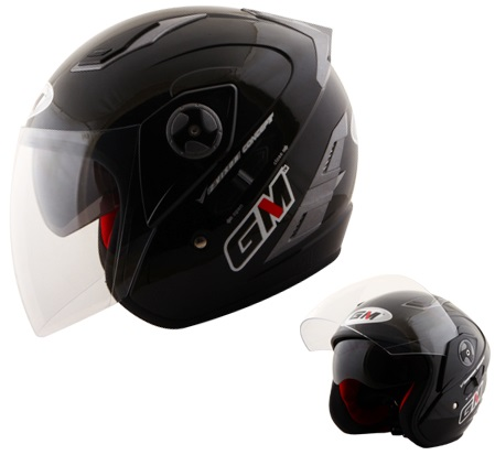 Helm GM Interceptor dengan Dobel Visor  IntipsOtomotif