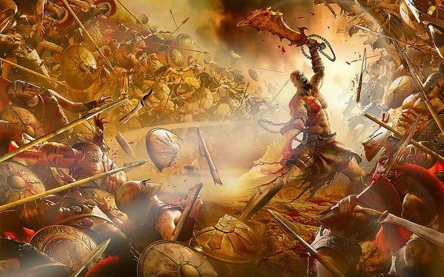 War between gods and demons