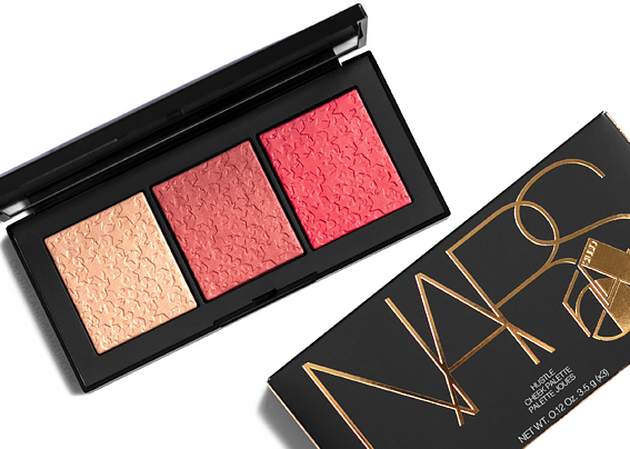 NARS Hustle Cheek Palette Studio 54 Collection Review Photos Swatches