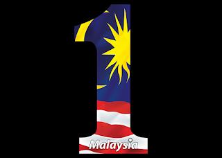 Logo 1 malaysia Vector