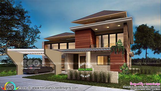 Contemporary Residence 2800 sq-ft