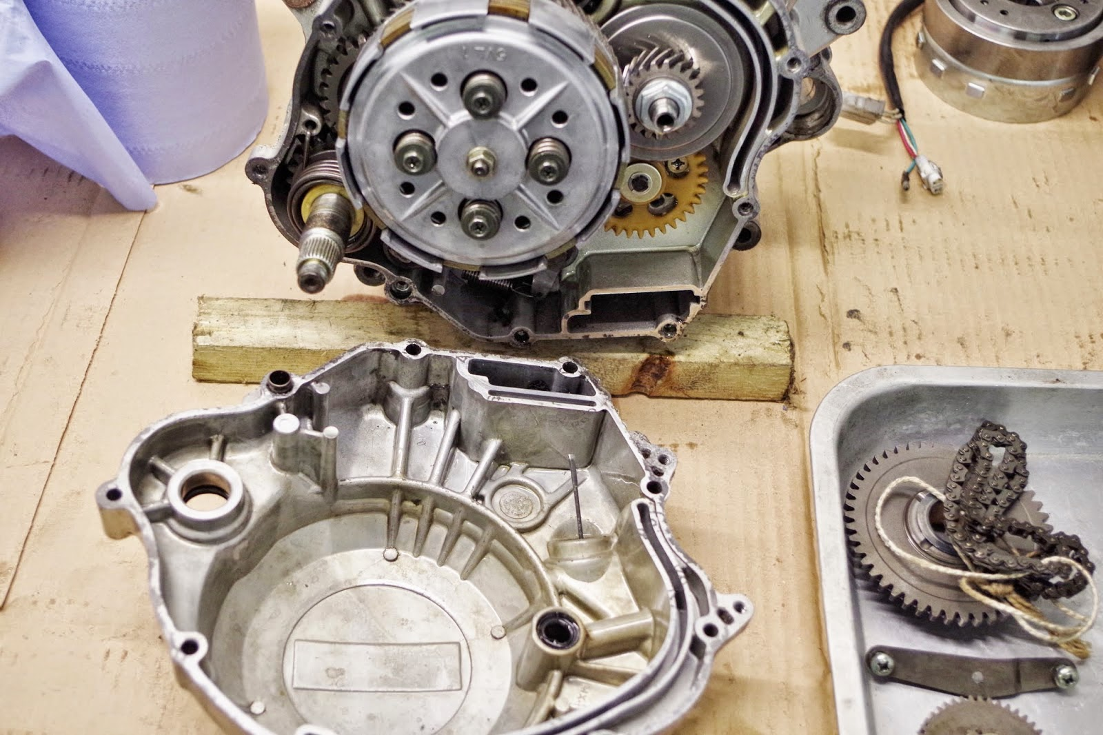 Yamaha YBR 125 Owner Blog : Yamaha YBR 125 Clutch problems