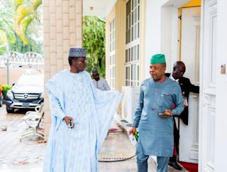 Governor Emeka Ihedioha Visit Zamafara Governor, Bello Matawalle