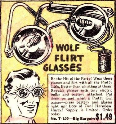 Wolf Flirt Glasses