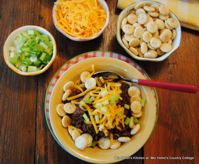Slow Cooker Cincinnati Chili at Miz Helen's Country Cottage