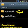 Cara Mudah Pindahkan File Dari Memori Internal Ke Eksternal Tanpa Aplikasi