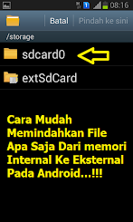 Cara Mudah Pindahkan File Dari Memori Internal Ke Eksternal Tanpa Aplikasi