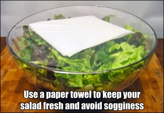 how to keep your salad fresh